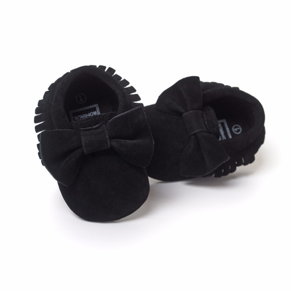 Hot-Sale-Baby-Shoes-PU-leather-Solid-tassel-Frosted-Butterfly-knot-Newborns-Moccasins-toddler-infant-Girl-Boy-First-Walker-4