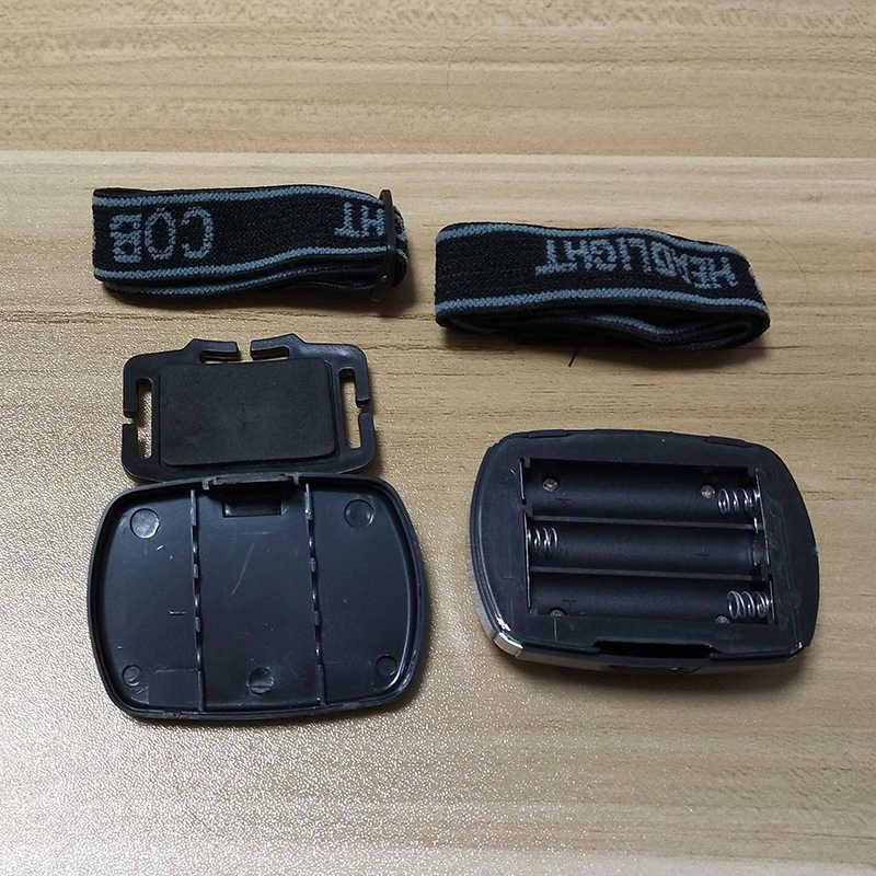 Litwod Z90SY3 Водонепроницаемость в повседневных условиях светодиодный налобный фонарик cob мини 3 режима налобный фонарь для кемпинга освещение батареей AAA