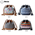 Bolsa Women Messenger Bags Canvas Printing Cross Body Shoulder Bags Small Girl Designer Brand Handbags Bucket High Quality