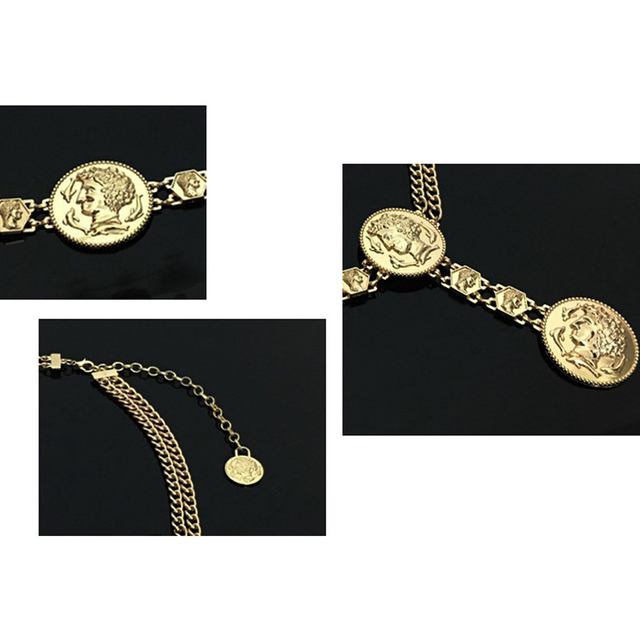 Luxury Designer Chain Belt
