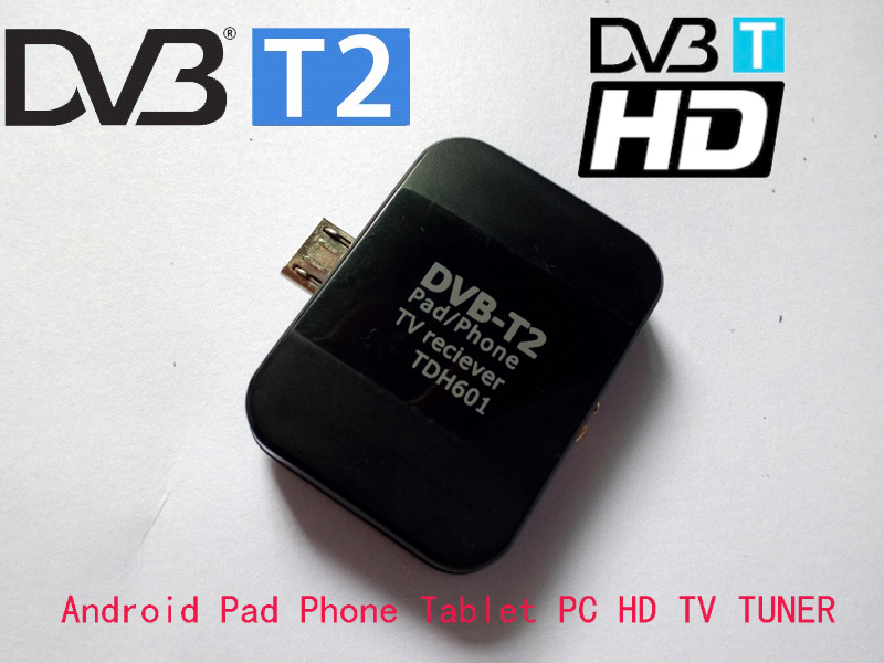dvb t2 dvb t tv tuner dvb t2 micro usb digital tv receiver watch live tv for android pad phone. Black Bedroom Furniture Sets. Home Design Ideas