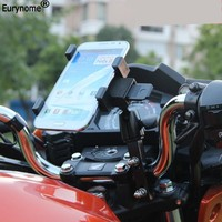 Fashion Universal Aluminum Alloy Bicycle Motorcycle GPS Tablet Pc Mount Holder For Ipad Mini 2 3