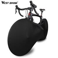 WEST BIKING чехол для велосипедного колеса, пыленепроницаемый, устойчивый к царапинам, сумка для хранения в помещении, защитное снаряжение для в...