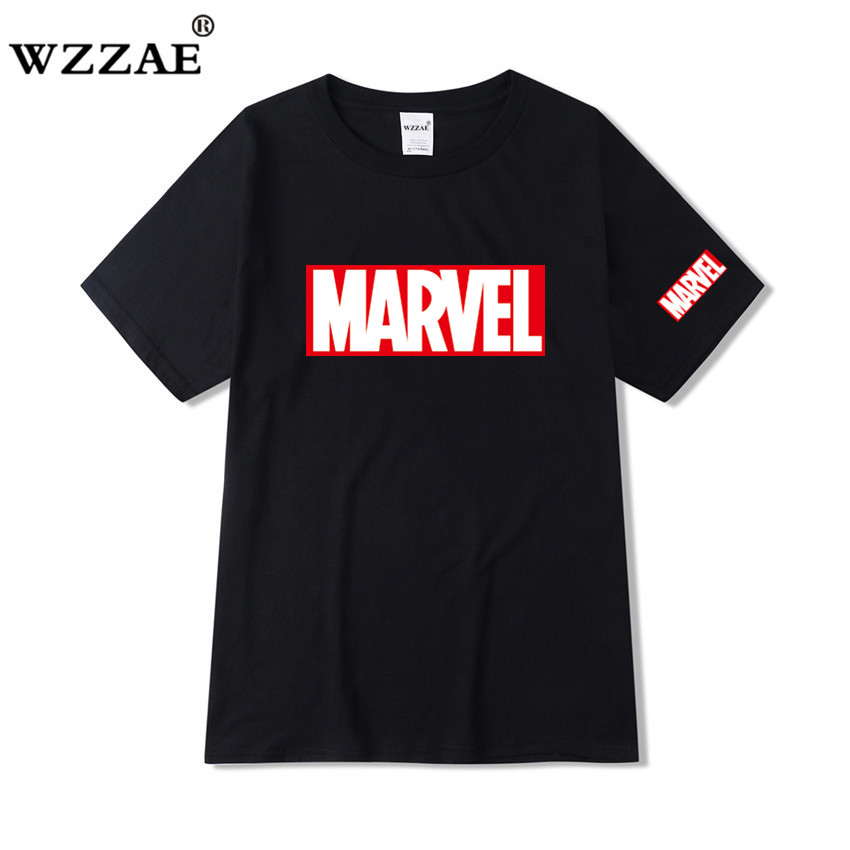 2019 New Brand Marvel   t     Shirt   men tops tees Top quality cotton short sleeves Casual men tshirt marvel   t     shirts   men free shipping