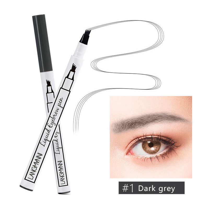 3 Colors Eyes Makeup Microblading Tattoo Eyebrow Ink Pen Waterproof