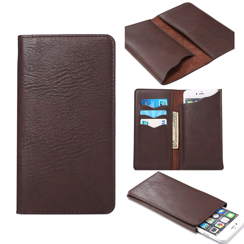 For LeEco Cool1 dual Coolpad cool1 4G LTE 5 5.3-5.7inch Universal Crazy Horse PU Leather Flip Mobile Phone Case Wallet Pouch
