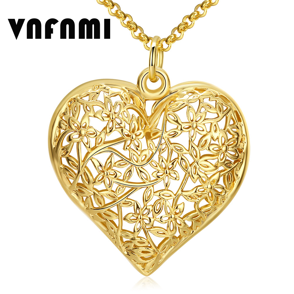 New Design Necklace & Pendant 18K Gold Plated Chain Long Necklace ...