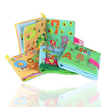 Baby Cloth Book Cartoon Animal Soft Learning Educational Toy Intelligence Developing colourful