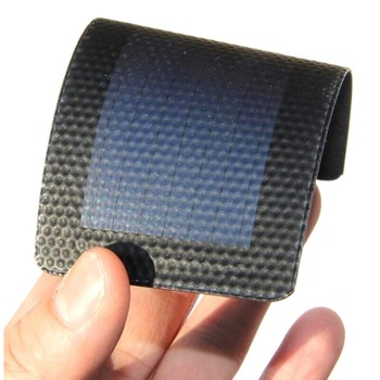 1Pc 0.3W 2V Waterproof Foldable Solar Panel DIY Battery Cell Flexible Amorphous Silicon Membrane Solar Charging Panel 2
