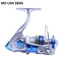 купить MOLONSENG Fishing Reel 12BB Ball Bearing 5.2:1 Spinning Reel for Fishing Carp 2000-7000 Series Spinning Reels Wheel Spool Lure недорого