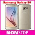 Samsung Galaxy S6 SM-G920 Оригинальный Разблокирована 3 Г и 4 Г 16MP Камера Окта основные 5.1 GB ROM ''32 3 ГБ RAM Mobile телефон
