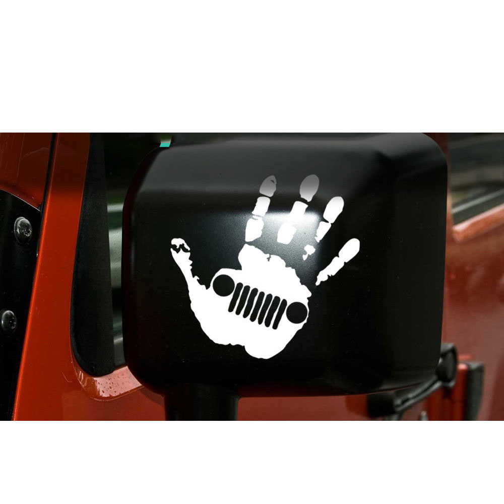 12.7cm For Jeep Wave Decal | Jeep Sticker TJ YJ Wrangler Grand Cherokee T-034