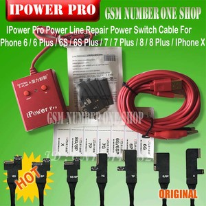 Image 2 - newest iPower pro Cable  With ON/OFF Switch iPower Pro for iPhone 6G/6P/6S/6SP/7G/7P/8G/8P/X DC Power Control Test Cable