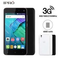 IPRO יותר 5.0 חכם מקורי אנדרואיד 5.1 5.0 Inch מסך מגע 8 GB ROM Celular Sim כפול נייד סמארטפון GSM WCDMA 3 גרם טלפון