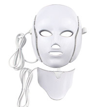 Dropshipping 7 colors LED Facial Mask face mask machine Photon Therapy Light Skin Rejuvenation Facial PDT Skin Care beauty Mask цены