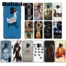 Babaite Prison Break Novelty Fundas Phone Case Cover For Samsung Galaxy s10 s10plus s9 s8 plus s7 s6edge coque(China)