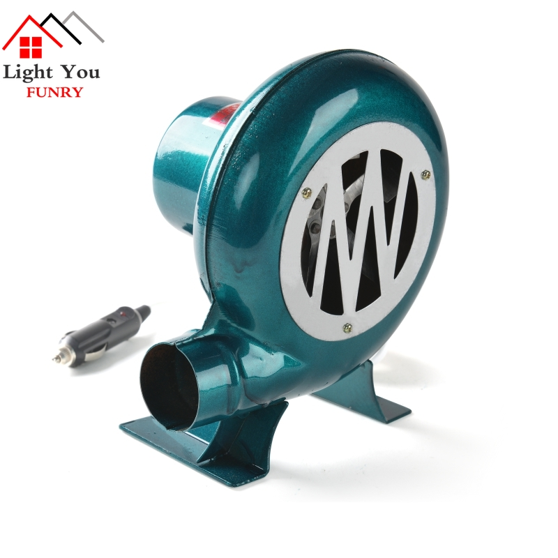 12V DC 30W Car Blower Barbecue DC Blower Vehicle 12V  Barbecue Camping Fan BBQ Accumulator Storage Battery Blower