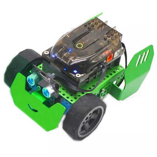 DIY умный RC робот автомобильный комплект программируемое отслеживающее приложение Bluetooth управление робот развивает детей логическое мышление операционные навыки