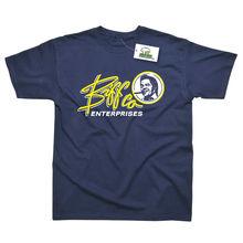 цена Biff Co Enterprises Inspired by Back To The Future Printed T-Shirt Top Tee 100% Cotton Humor Men Crewneck Tee Shirts Black Style в интернет-магазинах