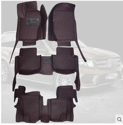 Best quality! Special floor mats for Mercedes Benz GL 350 450 X164 7 seats 2011-2006 waterproof car rugs carpets,Free shipping