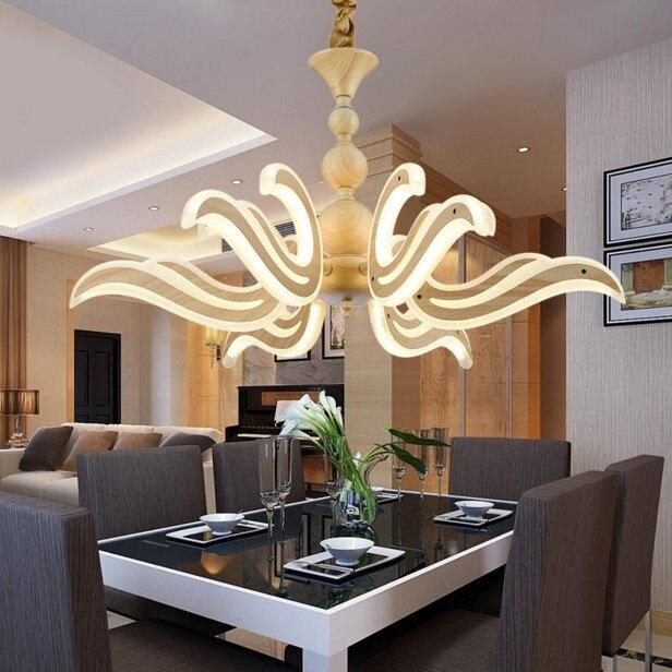 Lampadari moderni lampada LED Metallo acrilico apparecchio di ...