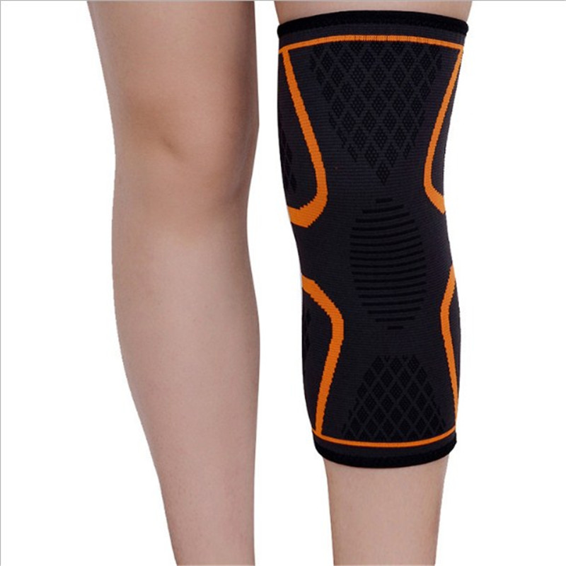 Outdoor Sports Knee Pads Running Basketball Riding Fitness Knee Climbing Thermal Shock Protection Protective Equipment