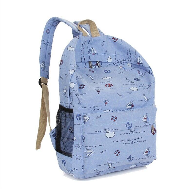 2017 School Backpacks for Teenage Girls Canvas Women Backpacks Fashion  School Bags Schoolbag Satchel Student Book Bag Mochilas-in Backpacks from  Luggage ... 3d8c83cf31fb8
