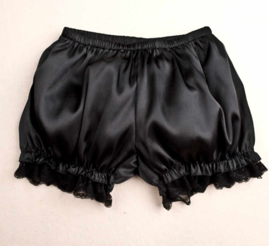 Seksi Padat Mini Renda Pendek Di Bawah Lembut Celana Pendek Celana Musim Panas