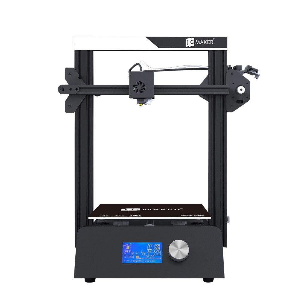 JGAURORA Magic 3D imprimante unique buse LCD écran bouton de contrôle en aluminium substrat en tôle base Semi-bricolage conception