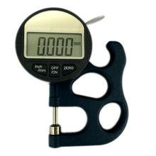 0.001 мм Микрон Цифровой Толщиномер Meter 0-10 мм ЖК-Электрический Микрометр Толщина Теста Шириной Мера Инструменты С Вывод данных