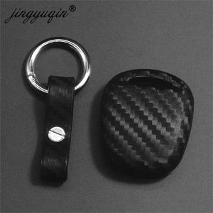 Image 2 - jingyuqin Carbon Silicone Car Key Cover Case for LEXUS RX300 ES300 TOYOTA CAMRY RAV4 PRADO COROLLA AVENSIS LAND CRUISER YARIS