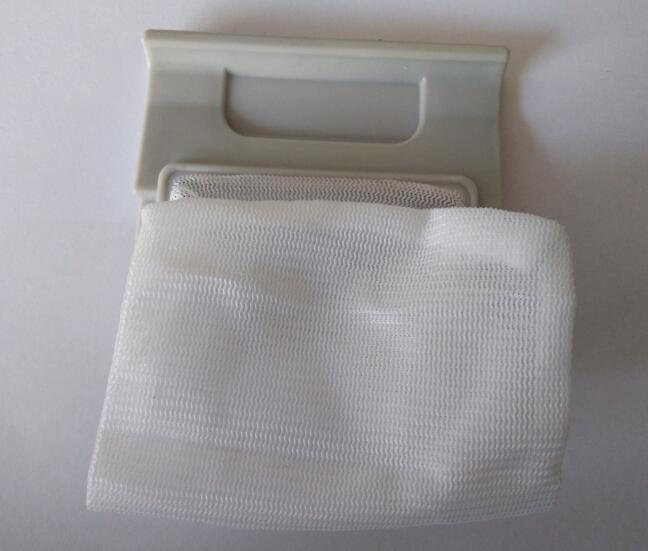 Washing machine parts dust filter net bag washing machine parts dust bag filter net case