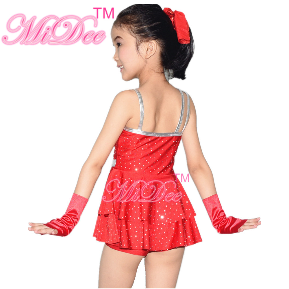9343dbcaabff Aliexpress.com   Buy MiDee Jazz Dance Costumes Competition Dresses ...