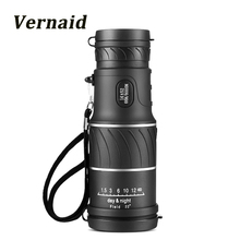 Hunting Monocular 16x52 Focus Optic Lens handheld HD Day Night Vision Travel Telescope spotting Scope Binoculars pocket