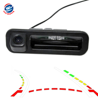 Intelligent Dynamic Trajectory Tracks Rear View Camera For Ford Focus 2012 Hatchback Sedan Auto Reversing Parking