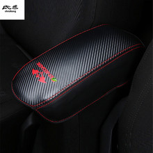 Free shipping high quality 1pc for 2015 2017 JEEP Renegade PU leather car accessories armrest font