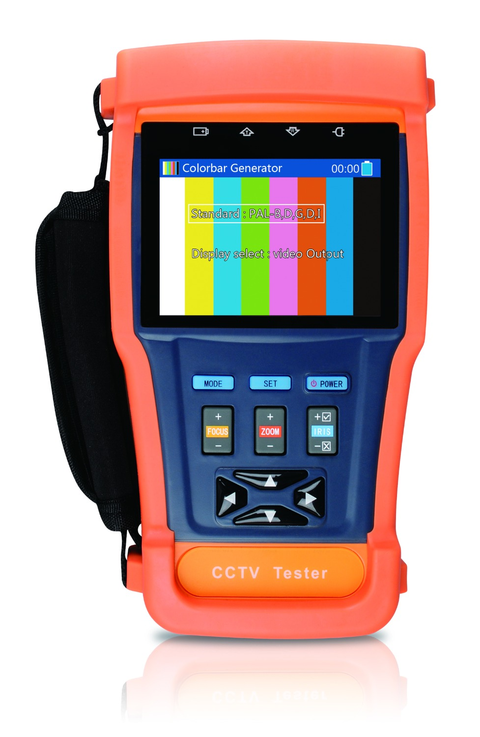CCTV Tester With Internal Memory(8G),Video Screen Shot,Video Recording,PTZ Control,PTZ Address Auto Recognize,12Voutput,3.5-inch