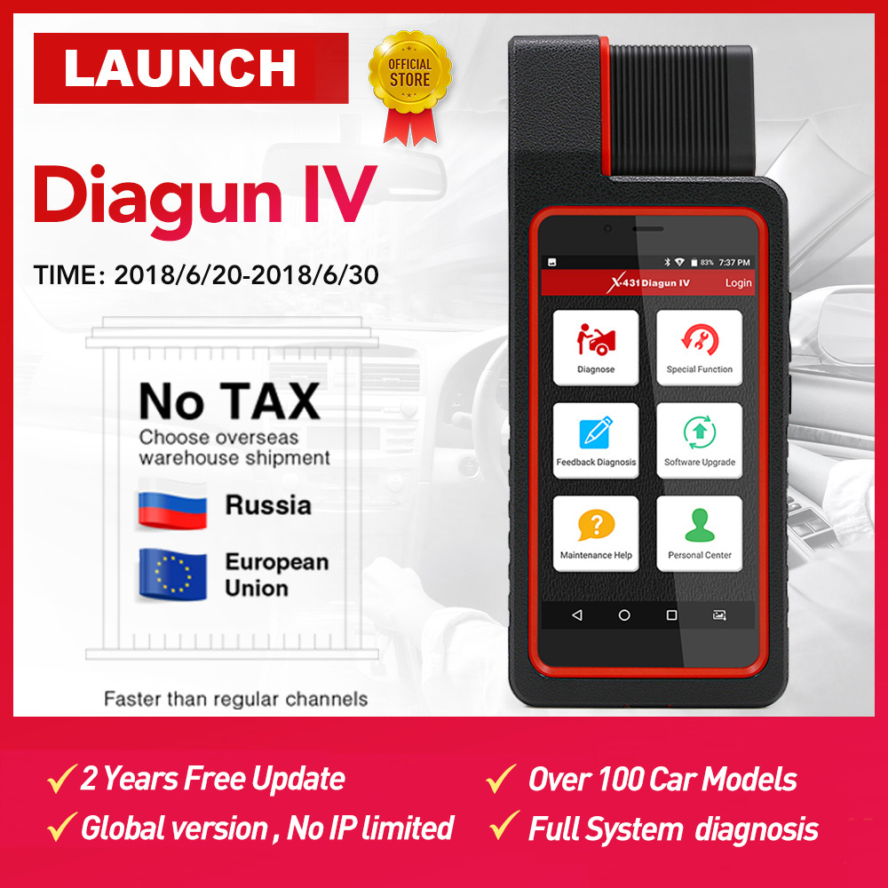 LAUNCH X431 Diagun IV Auto Full System Diagnostic Tool Support Bluetooth/Wifi with 2 Year Free Update good than X431 Diagun iii 2017 new released launch x431 diagun iv powerful diagnostic tool with 2 years free update x 431 diagun iv better than diagun iii