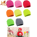 Monkids 2017 Newborn Baby Hats Baby Boy Girl Unisex Hat Kids Cap Infant Colorful Cotton Soft Cute Beanie Hats 20 Colors