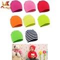 Monkids 2017 recém-nascidos do bebê chapéus chapéu do bebê boy girl unisex crianças cap infantil algodão colorido macio bonito beanie chapéus 20 cores