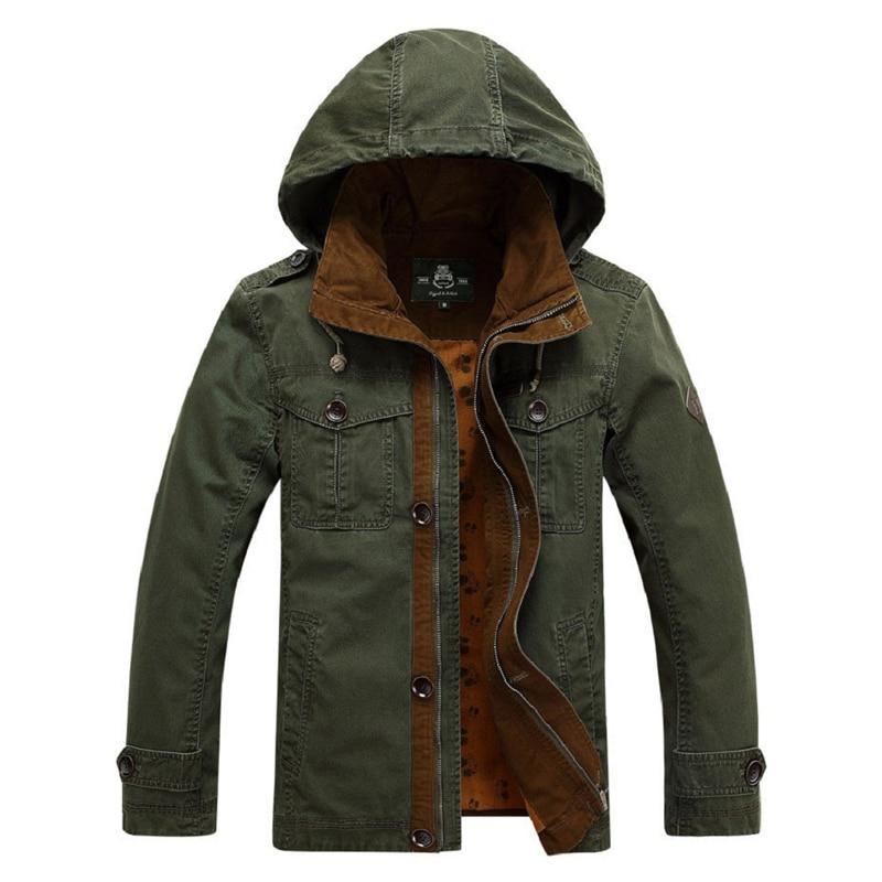 2016 Marke Jacke Männer Top-qualität Europäischen Herren Military Jacke Mantel Lässig Casaco Fracht Mantel Jaqueta Masculina 15817 Letzter Stil