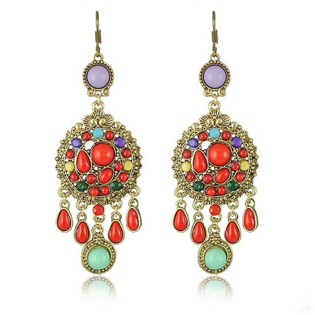 Hot Sell Vintage Drop Earrings Jewelry Vintage Earring for Women