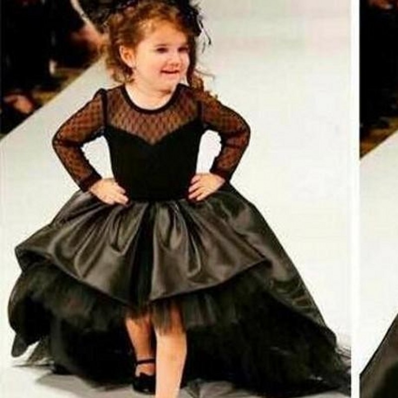Compare Prices on Black Flower Girl Dresses- Online Shopping/Buy ...