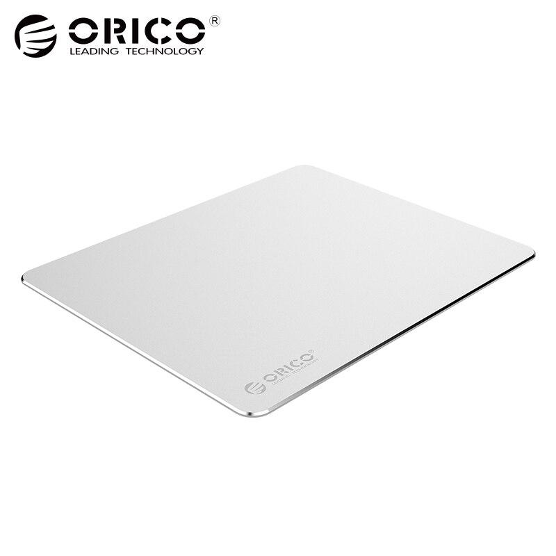 ORICO Алюминий Мышь Pad металла игровой Мышь площадку с 1.5 мм Алюминий и 0.5 мм Резина для Офис Бизнес