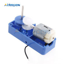 цена на DC1.5-6V 1:94 Mini Electric Reduction Box DC Gear Motor Biaxial Output for DIY Robot Car Engine Toys Parts