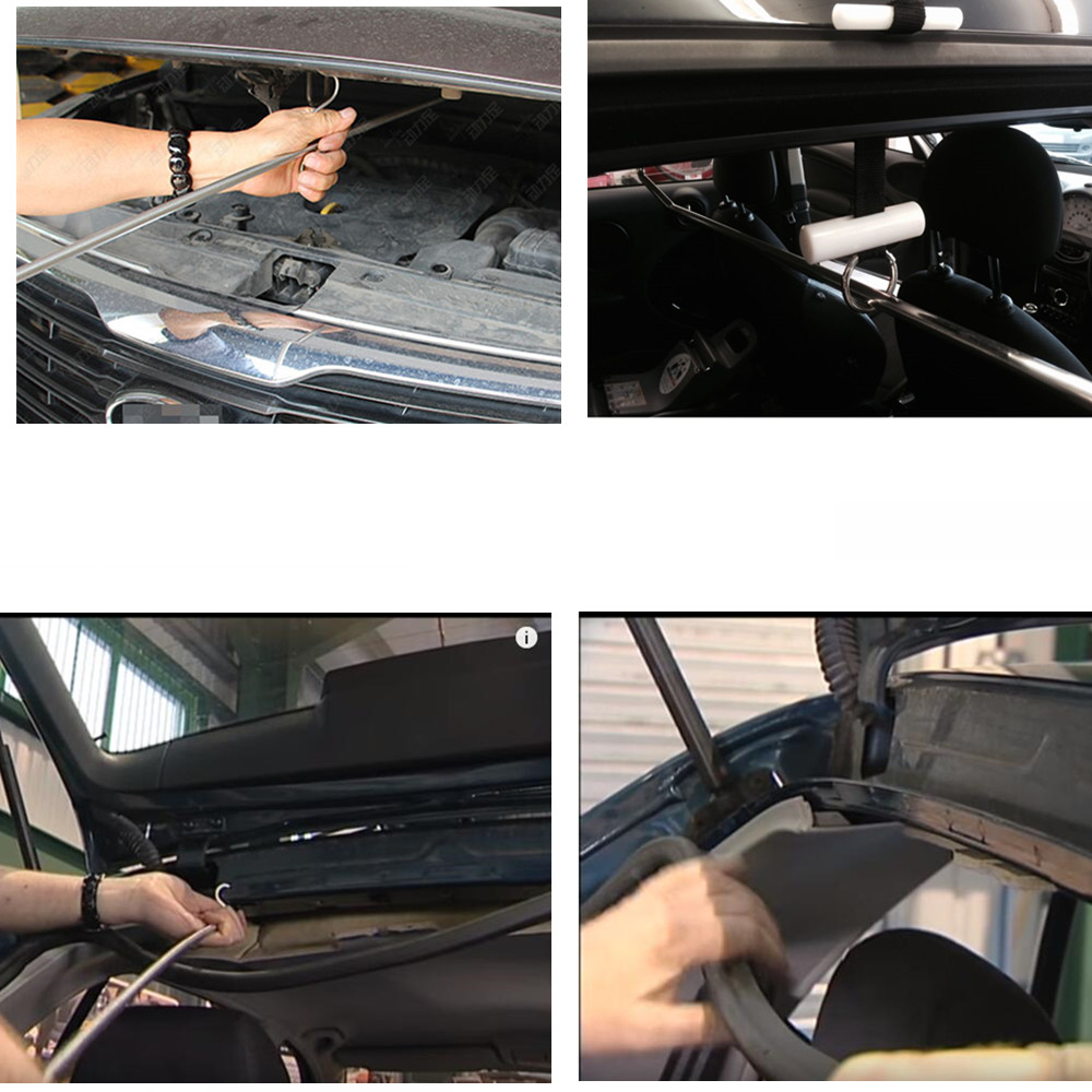 Купить с кэшбэком paintless dent repair Profession Rods Hooks  Auto body repair Toolkit Paintless Dent Repair Tools Dent Removal Tools