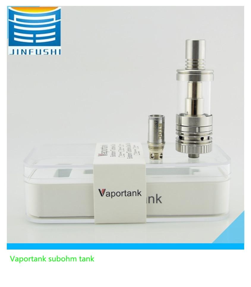 100% Kingfish Authentic vaportank subohm tank 0.5 ohm BTC coil electronic cigarette atomizer fit box mod 30-80w vape