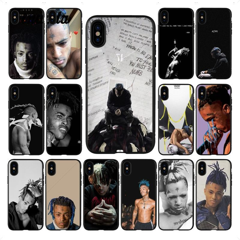 Yinuoda <font><b>Xxxtentacion</b></font> Mode Black TPU Soft silicone Phone Cover for <font><b>iphone</b></font> X XS MAX 8 7 6S Plus 5S SE XR Cellphones image