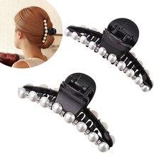 M MISM 1PC Rhinestones Beads Hairgrip Hairpins Hair Accessories Ornaments Barrette Hair Claw Hair Clip For Women Girl