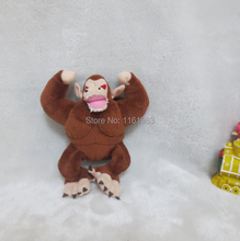 2014 New Arrival Anime Dragon Ball Plush Toys Kingkong Orangutan Plush 15cm